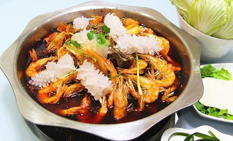 风格之印象大虾火锅花园-今日小寒 最冷时节支起火锅刷肉吃