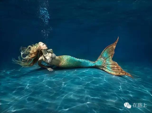 原来世界上真的有美人鱼 美哭了