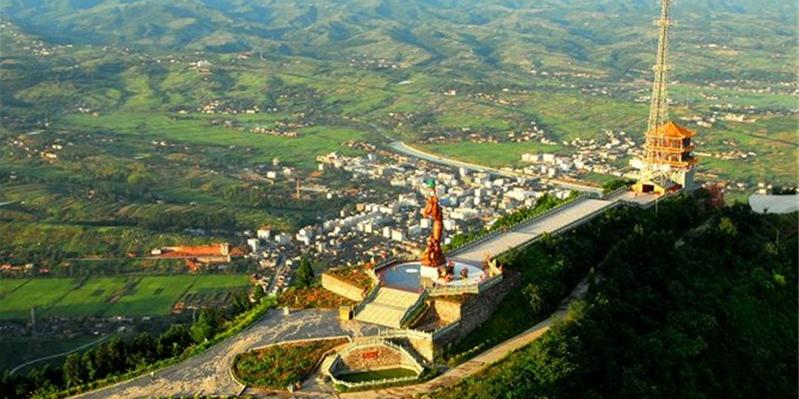 竹山女娲山旅游区