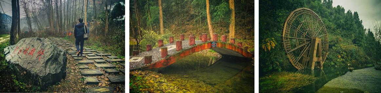 寻访美丽乡村51 狮子岩村:沿河十里行 景致各不同