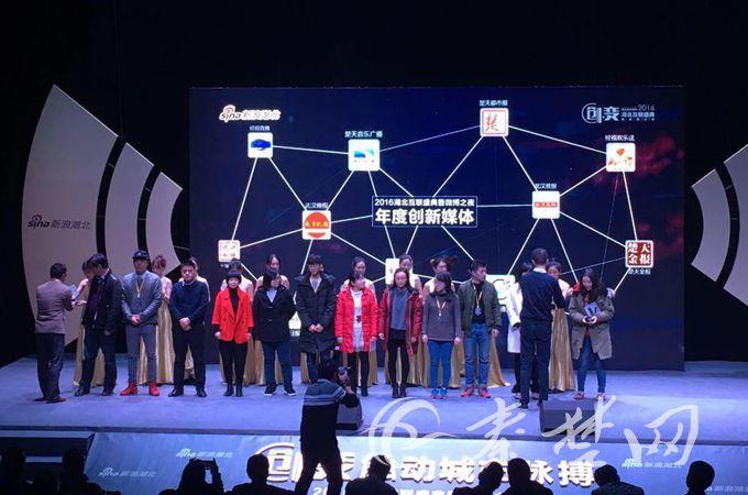 """【资讯】十堰晚报微博荣获""""2016湖北年度创新媒体"""""""