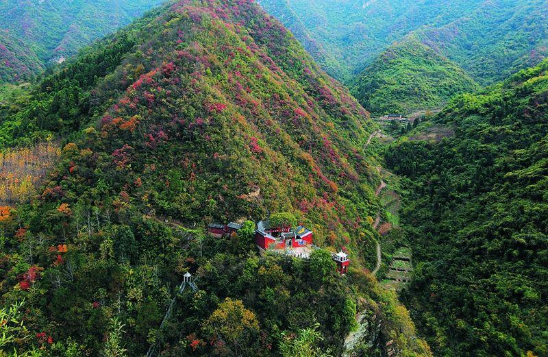 竹山观音沟生态文化旅游区