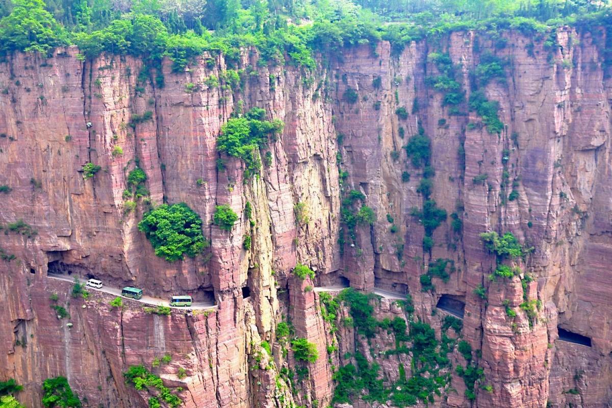 【游记】太行山挂壁公路奇观,震撼到没话说!