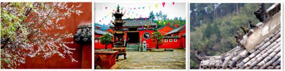 红墙青瓦 漫步泰山观感悟道教文化