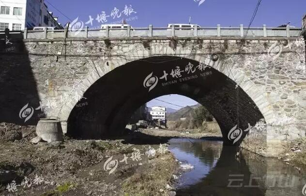竹山有座长寿桥:历经200年仍长寿