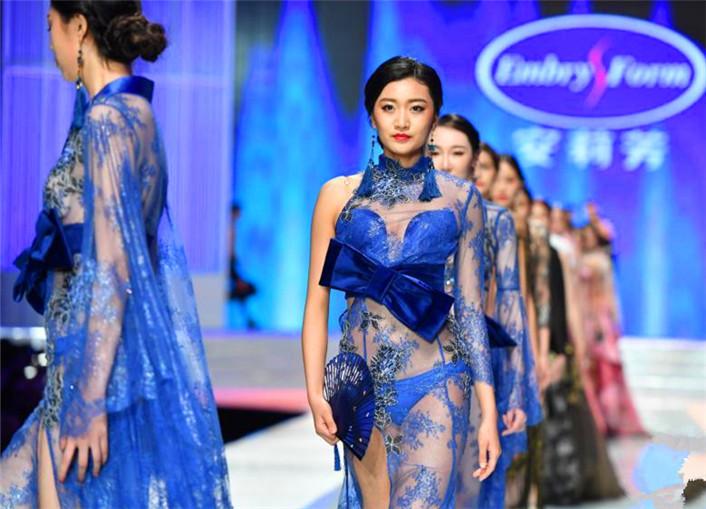中国国际品牌内衣展开幕秀惊艳上演