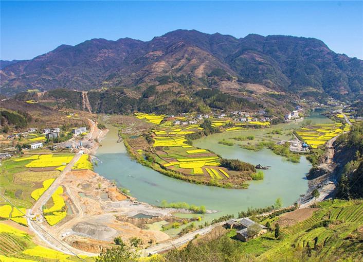 美丽的竹溪风光 风景如画