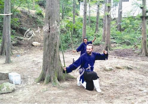 【资讯】44国洋弟子问道白马山!多年来潜心修道