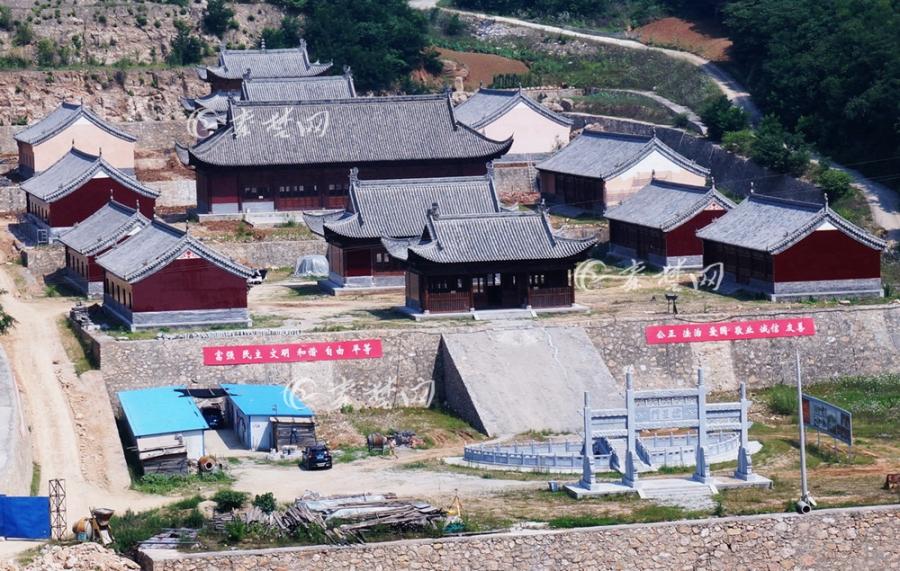 【资讯】郧阳明代府学宫复建收尾,进入最后上色施工