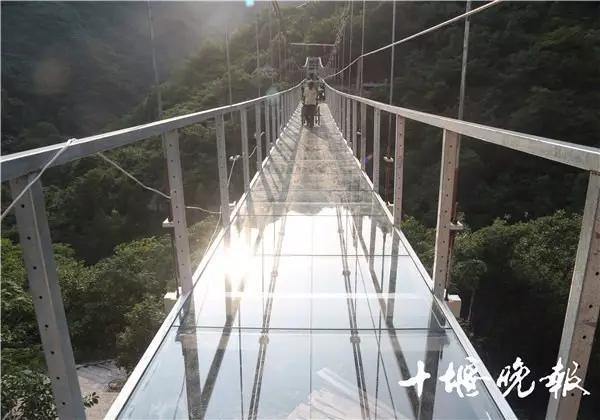 鄂西北最刺激玻璃桥竟在十堰