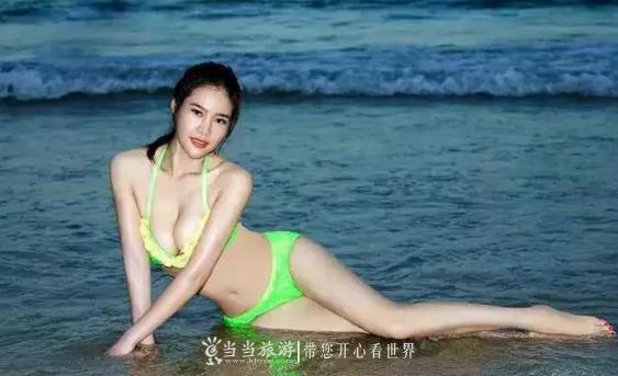 """【资讯】约""""漂""""吗?大波比基尼美女带你嗨爆快乐谷"""