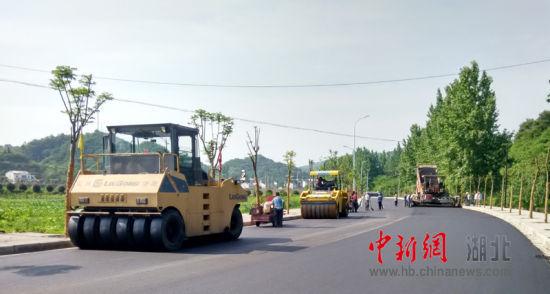 【资讯】丹江口市最宽最美的通村景观路建成通车啦
