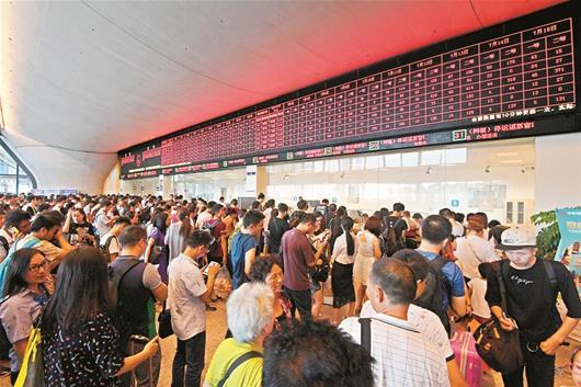 【资讯】武汉150余趟经长沙南下高铁7月6日全部停运