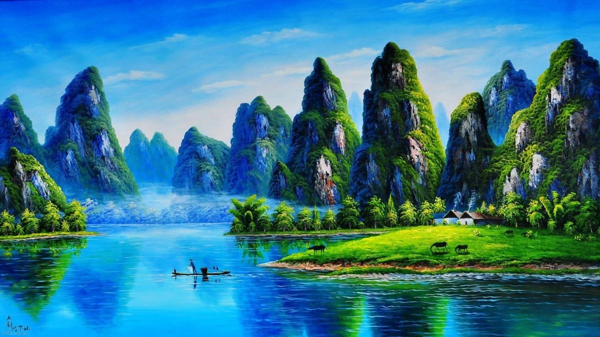 桂林、漓江、阳朔纯玩双卧6日游