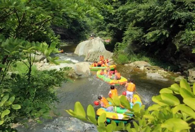 【资讯】好消息!武当峡谷漂流8月5日恢复开漂!