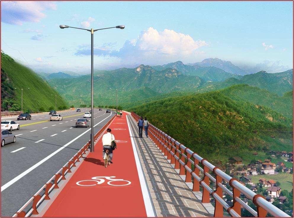 【资讯】十堰大道张湾段自行车漫游系统即将完工