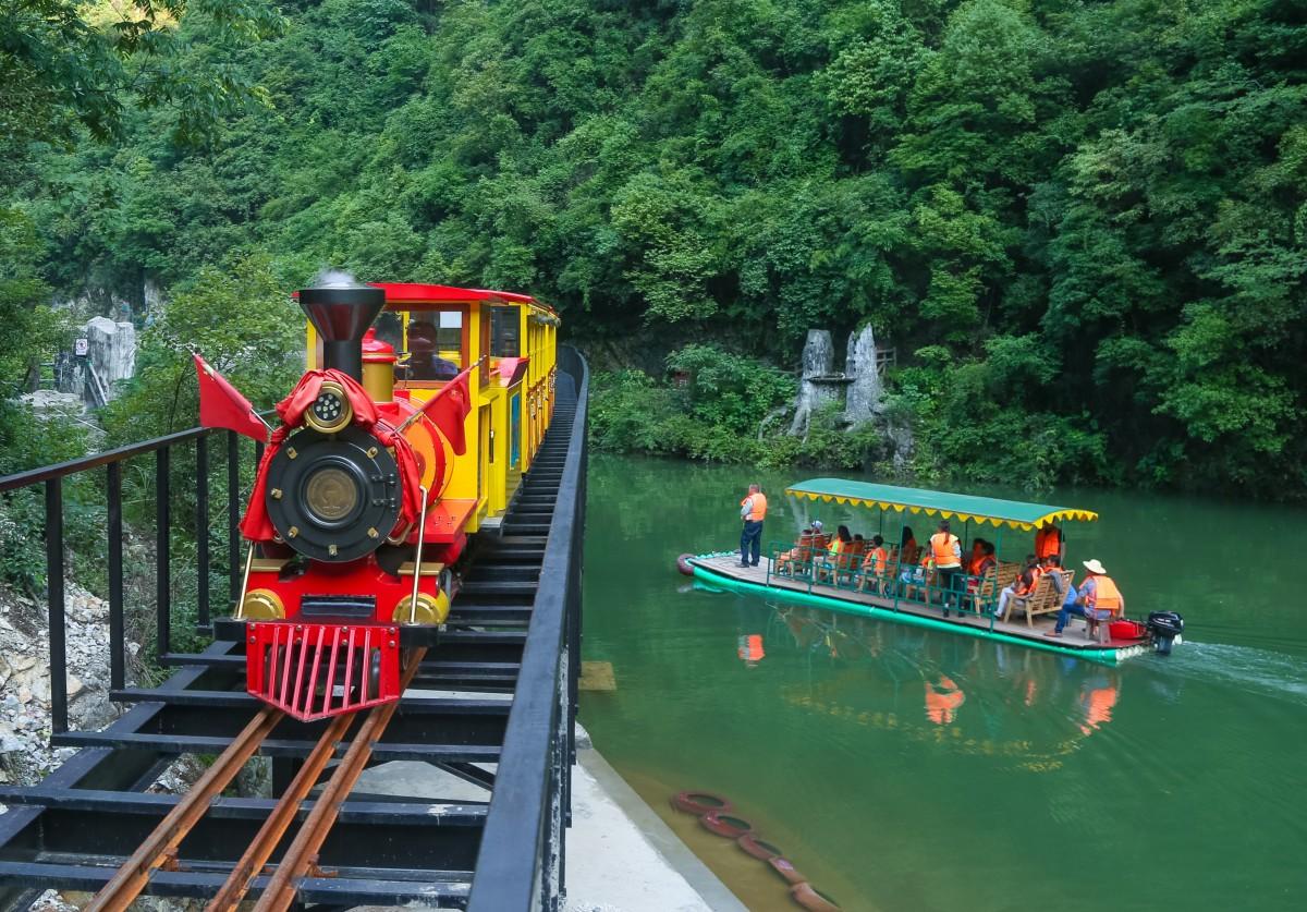 九龙瀑大峡谷旅游区