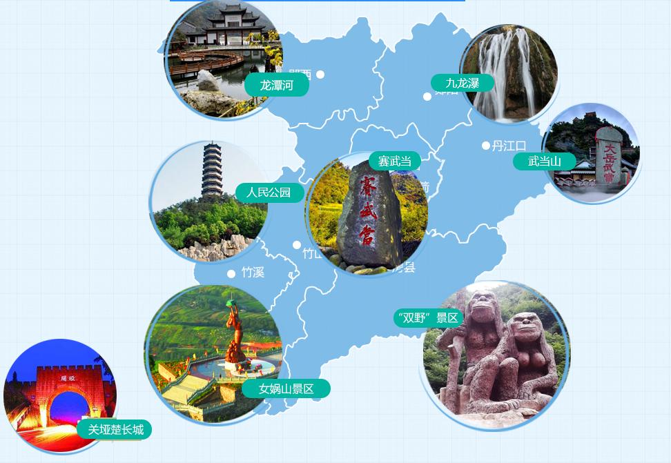 【资讯】全国网友为十堰旅游
