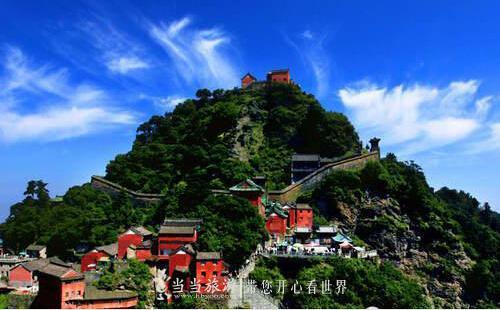 武当山8个月接待游客618万人次