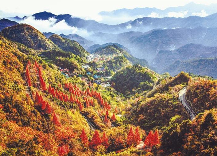 武当山秋季风光剪影