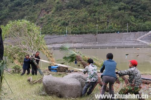 【资讯】洪水退后  竹山全力修复城西生态湿地公园