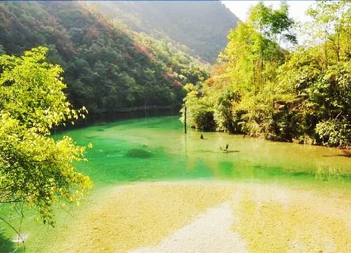 赏析旅游达人陈希荣先生五龙河摄影作品