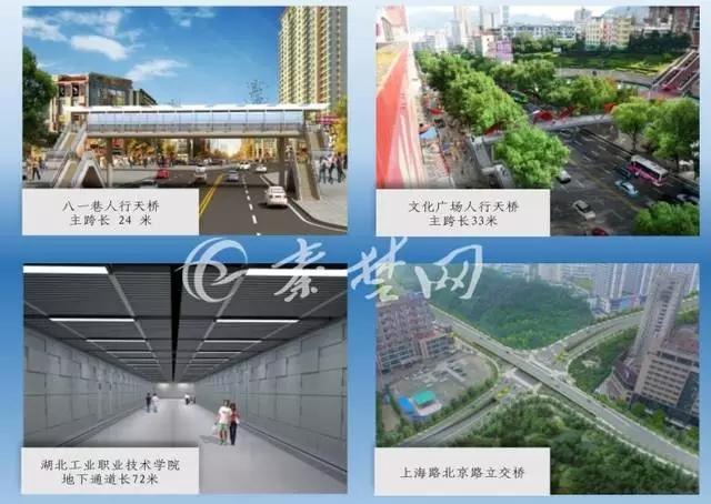 【资讯】出门玩儿将更方便  十堰将新建7座过街天桥