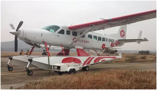 舟山正式引入水上飞机,并将开通上海-舟山-嵊泗水上飞机航线.