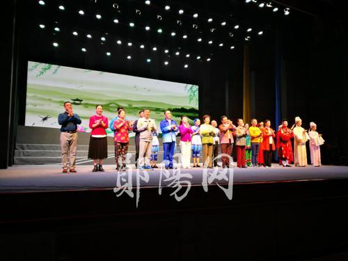 【资讯】郧阳此戏参加第三届湖北地方戏曲艺术节展演