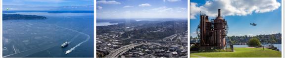 俯瞰西雅图