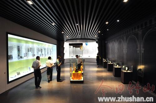 【资讯】竹山国际绿松石博物馆正式对外开放