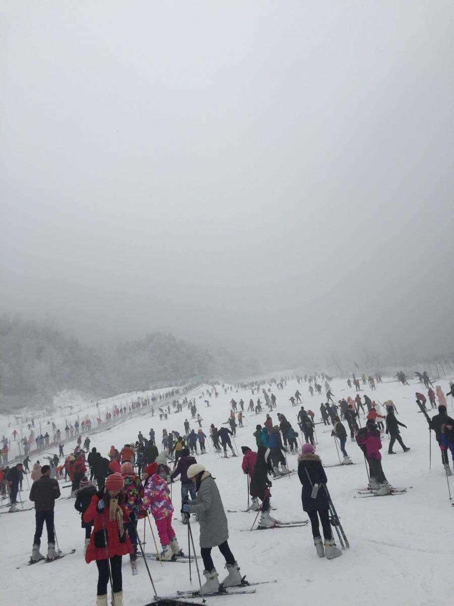 河南木札岭滑雪、福泉温泉二日游