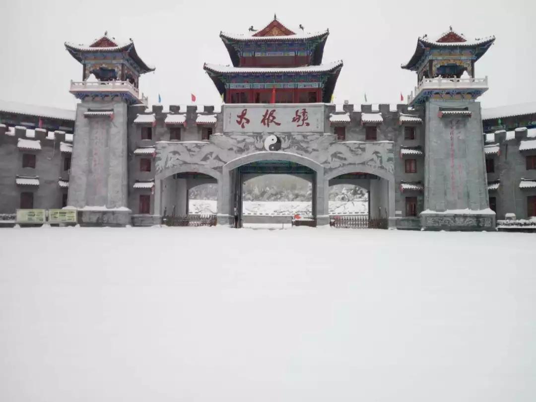 【资讯】丹江口太极峡重重山影被雪服