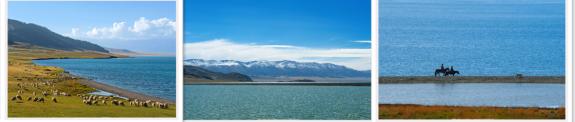 赛里木湖风光