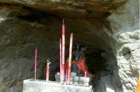 真武少年时曾在武当山太子洞修炼