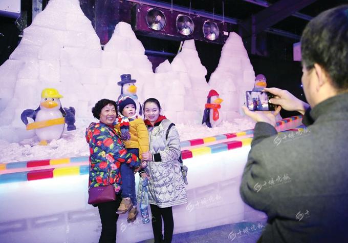 【资讯】栩栩如生!十堰首届哈尔滨冰雕节开幕