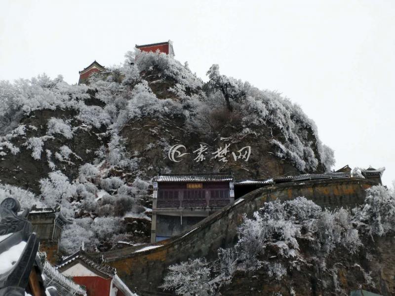 【资讯】武当山景区暂停开放  赏雪景请看这