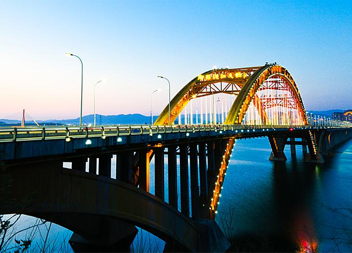 汉江二桥掠影