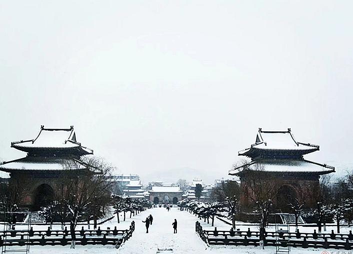 飞虹旅途之踏雪玉虚