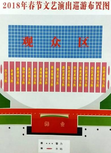 竹溪春节巡游方阵安排
