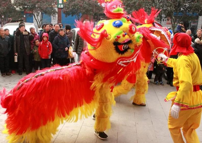 竹溪县2018年春节民俗大巡游活动