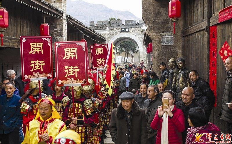 【资讯】去郧西上津特色小镇感受浓郁历史文化气息