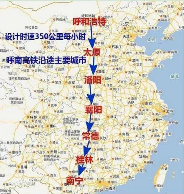 新建呼南高铁宜昌公铁大桥穿城线路和过江位置研究