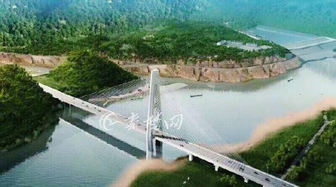 郧西县天河口汉江公路大桥