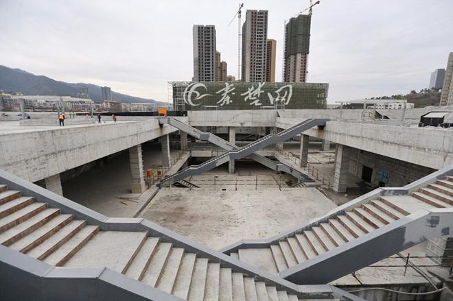 【资讯】十堰一座新广场年底竣工!有6个人民广场大