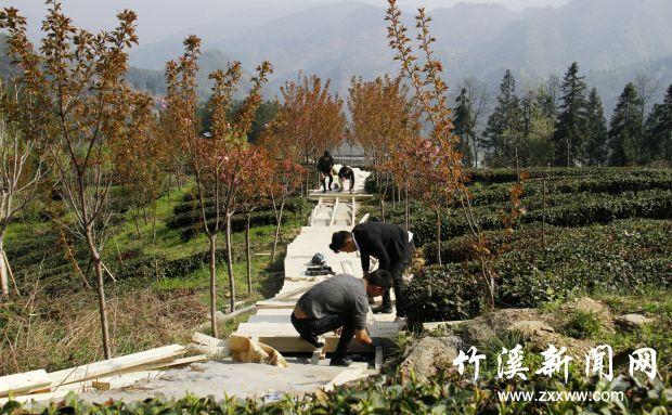【资讯】万里茶道·寻源竹溪旅游节基础建设有序推进