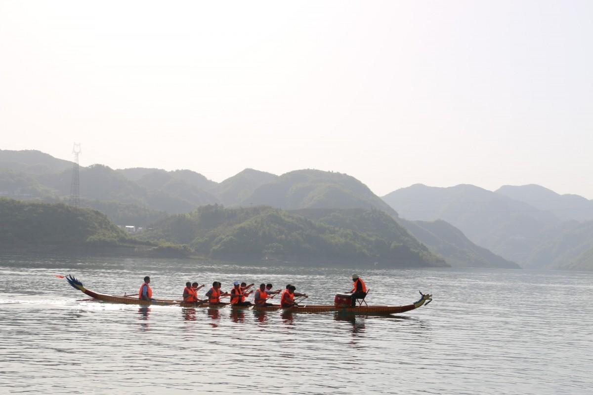 【资讯】竹山县首届龙舟大赛将在圣水湖激情开桨
