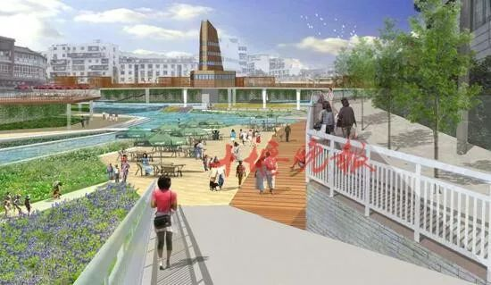 十堰此河段将成市民亲水乐园