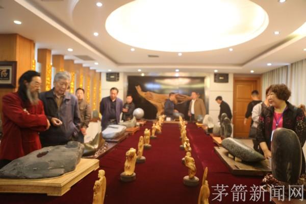 【资讯】茅箭观赏石协会首届汉江奇石精品展开展