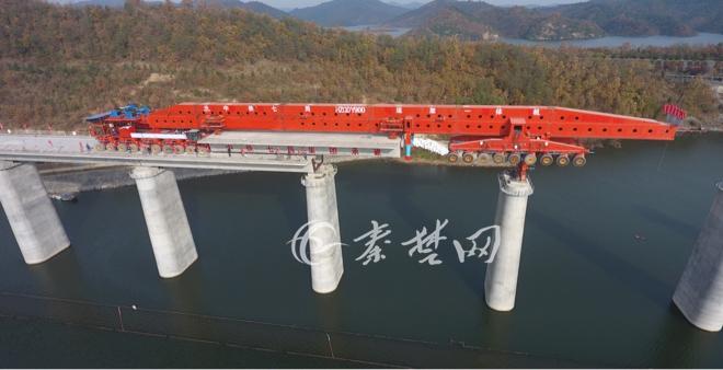 【资讯】汉十高铁最新进展:十堰段桥梁架设过半